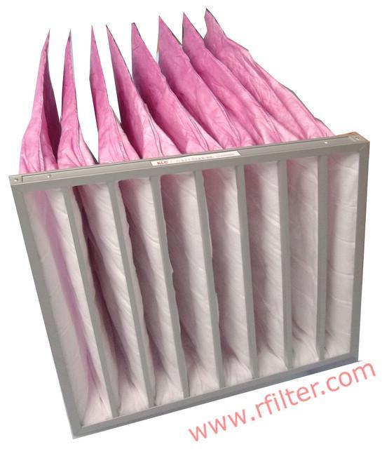 化纤袋式中效过滤器
