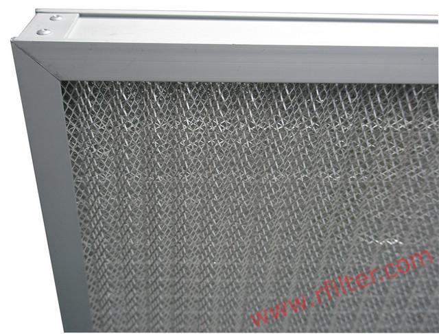 金属孔网过滤器 金属网初效过滤器