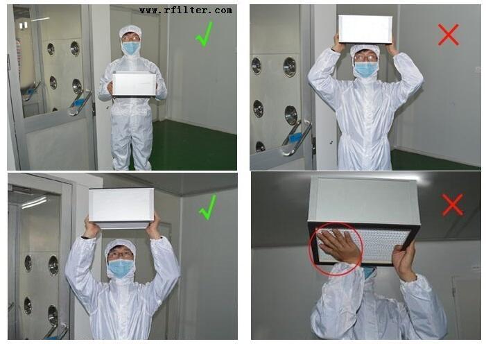 高效过滤器安装过程