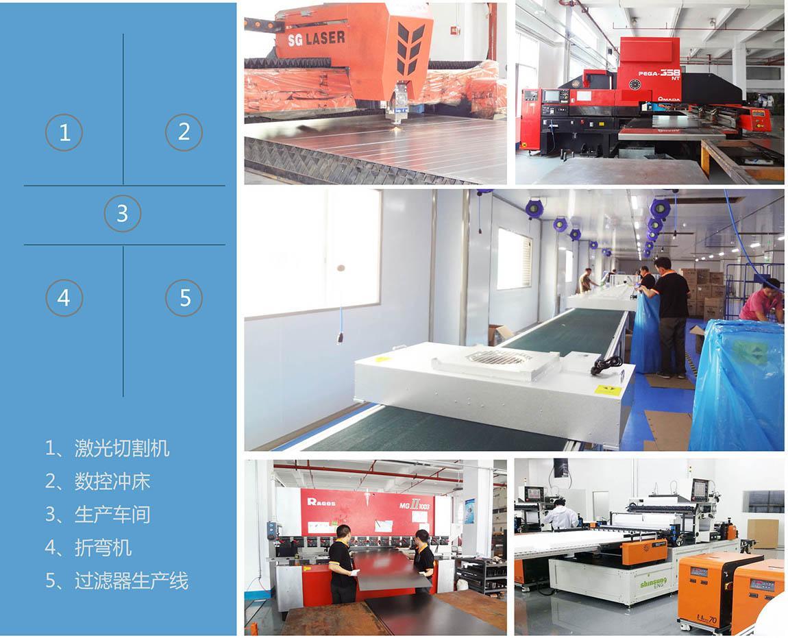 净化设备生产车间