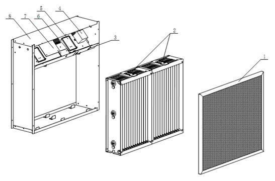 盐雾过滤箱|盐雾空气过滤箱
